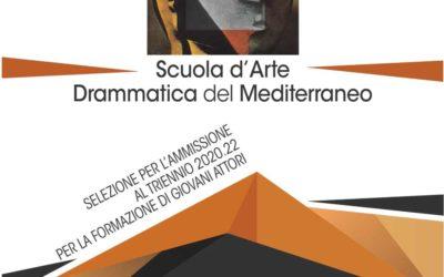 Scuola drammatica del Mediterraneo, aperte le selezioni per l'ammissione